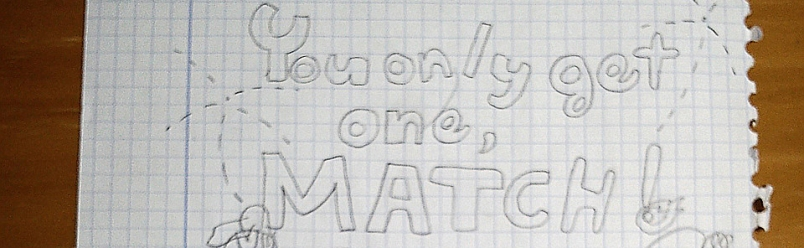 Presentación oficial de You Only Get One… Match! ¡En infantil!