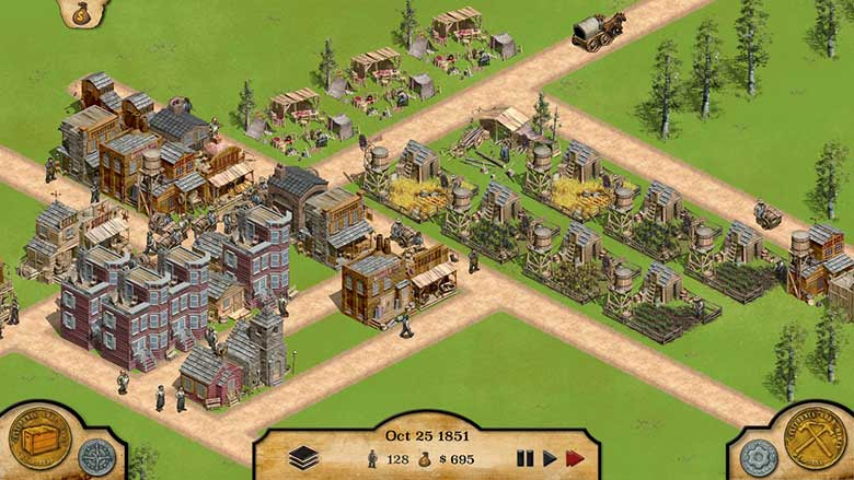 1849 City builder game