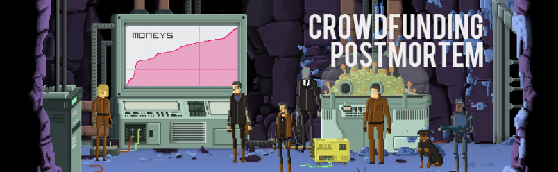 «Gods Will Be Watching»: Crowdfunding post-Mortem